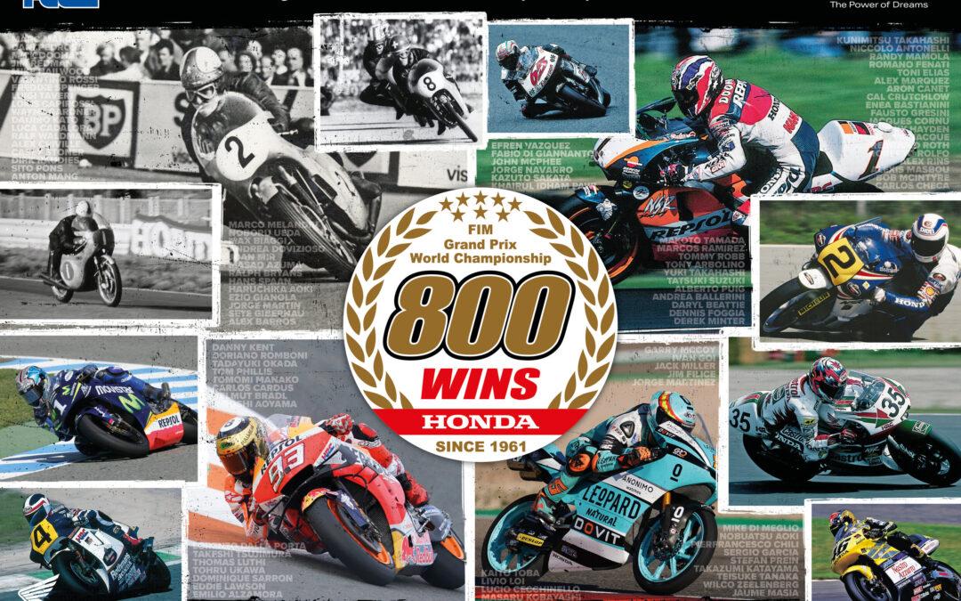 Honda Cetak Sejarah: 800 Kemenangan Grand Prix